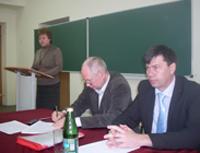 Выступает профессор кафедры психологии образования М.В.Григорьева
